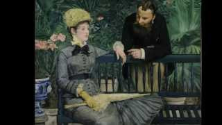 Edouard Manet, In the Conservatory, 1878-1879