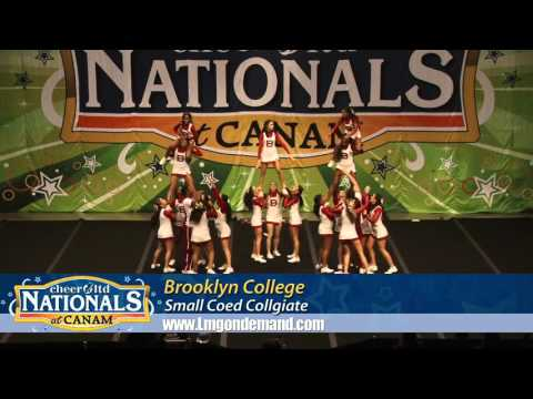 Brooklyn College Cheer Nationals Performance 2016