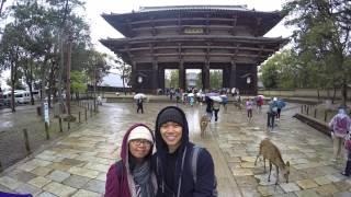 Osaka, Kyoto, Nara, Japan April 2015 (Gopro Hero 4)