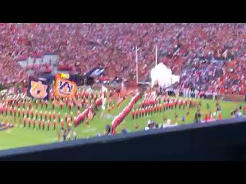 Auburn Vs Alabama State Entrance