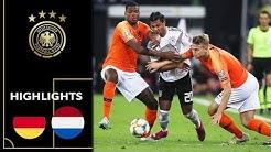 Halbzeitführung reicht nicht | Deutschland - Niederlande 2:4 | Highlights | EM-Qualifikation