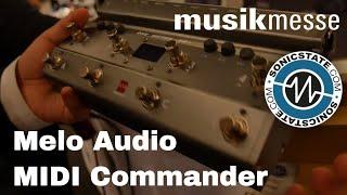 MESSE 2018 Melo Audio MIDI Commander And Audio Interfaces