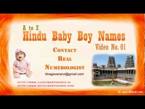 A to Z Hindu Baby Boy Names with Meanings - 01