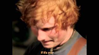Ed Sheeran - U.n.i. Lyrics