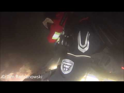 Night diving in Strande Bay, Germany, Baltic Sea