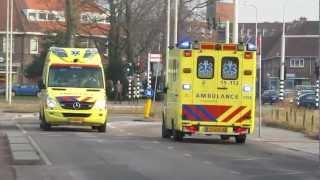 A1 Ambulance 15-112 Lau Mazirellaan Den Haag