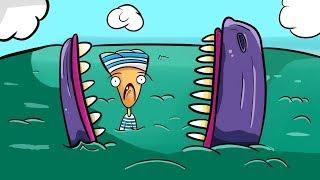 Co, jeśli zostaniesz zjedzony przez wieloryba?