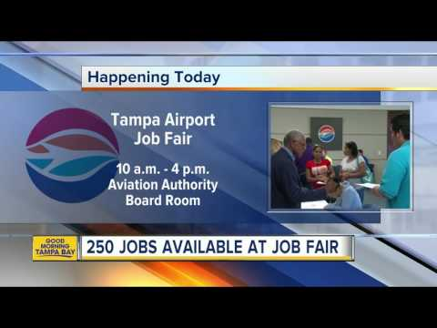 250 jobs available at TIA job fair on Monday