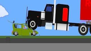 Phun Algodoo Car Destruction #9 (car crashes)