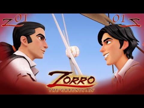 IL RETORNO   Zorro La Leggenda Episodio 1  Cartoni di supereroi