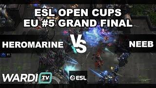 Neeb vs HeroMarine (PvT) - ESL Open Cups EU #5 Grand Final