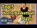 Top 5 Horns Basketball Plays