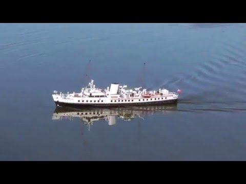 MV Balmoral sea trials