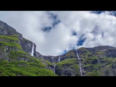 Visit Norway City and Amazing Natural Landscape in Time Lapse 2017