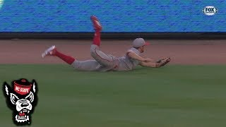 NC State's Jonny Butler With An Amazing Diving Catch