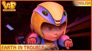 Vir: The Robot Boy | 3D Action shows for kids | Earth in Trouble | ENGLISH