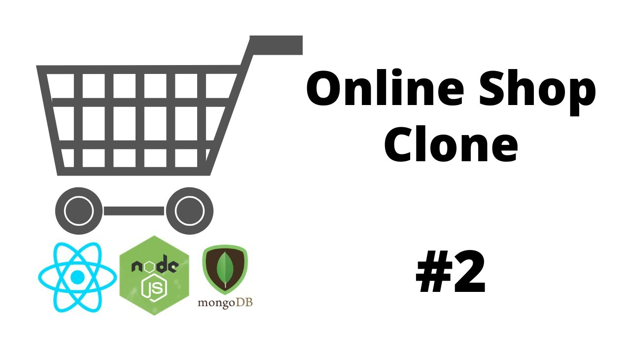 Entire layout and MongoDB Connection ( React Project , MERN) - Shopping Mall Clone #2