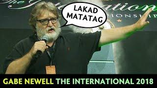 Gambar cover Gabe Newell on The International 2018 — Lakad Matatag!