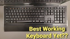 K740 - Logitech Keyboard - Is this the best keyboard for work?