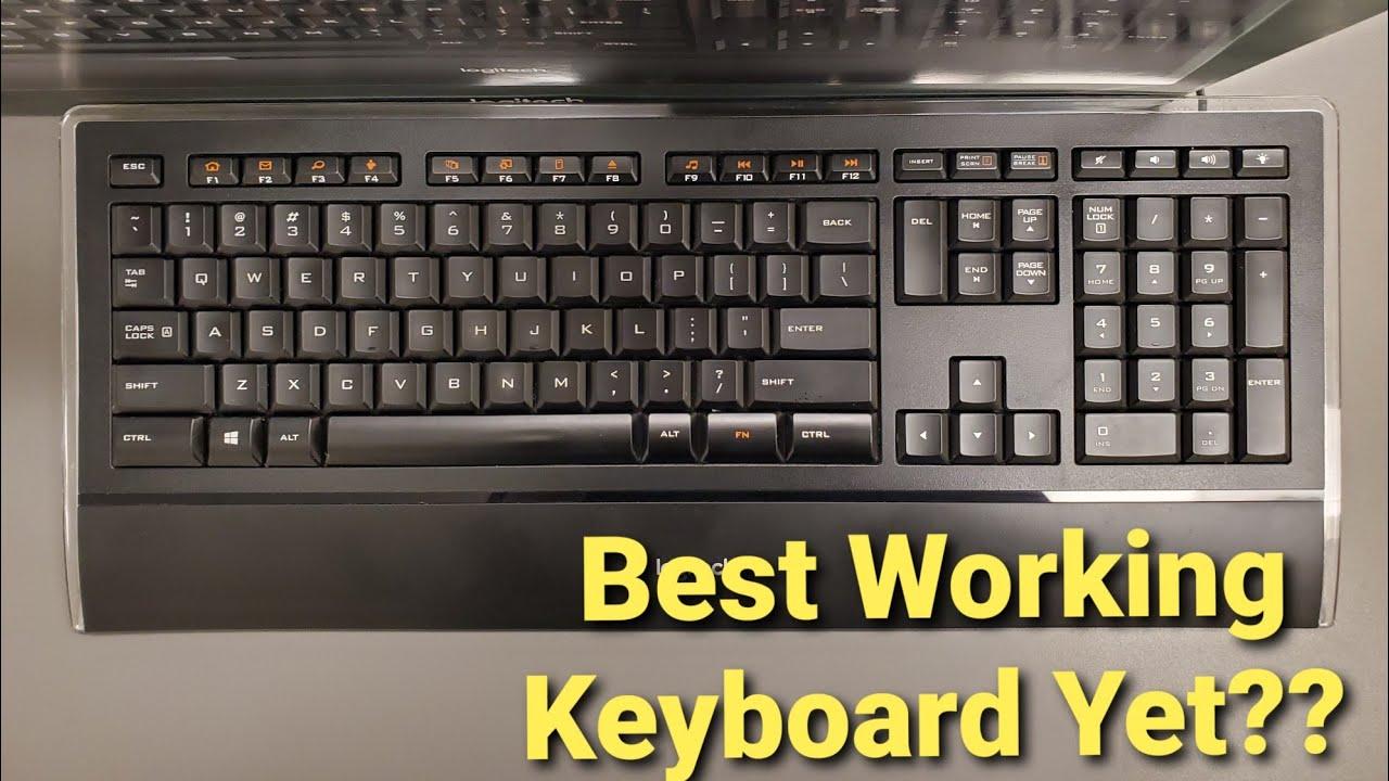 Logitech K740 Fur 50 Kabelgebundene Tastatur Mit
