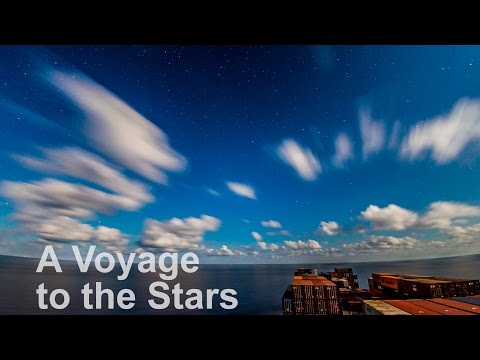 4K Timelapse of a Container Ship at Night | Life at Sea