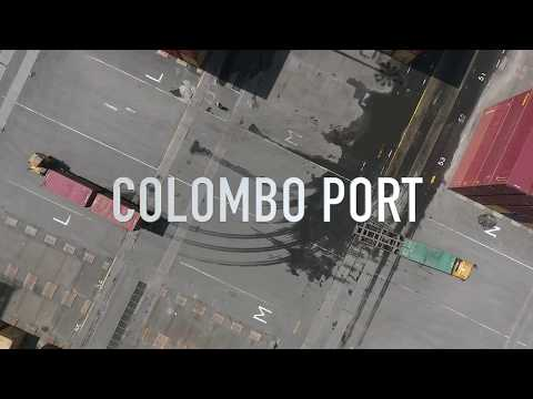 Colombo Port - Phantom 4 / video 3