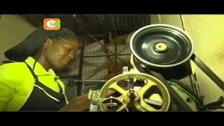 Kutana na fundi cherahani tajika mjini Eldoret mwenye shahada ya uzamili