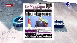 LA REVUE DES GRANDES UNES DU LUNDI 05 JANVIER 2020 - ÉQUINOXE TV