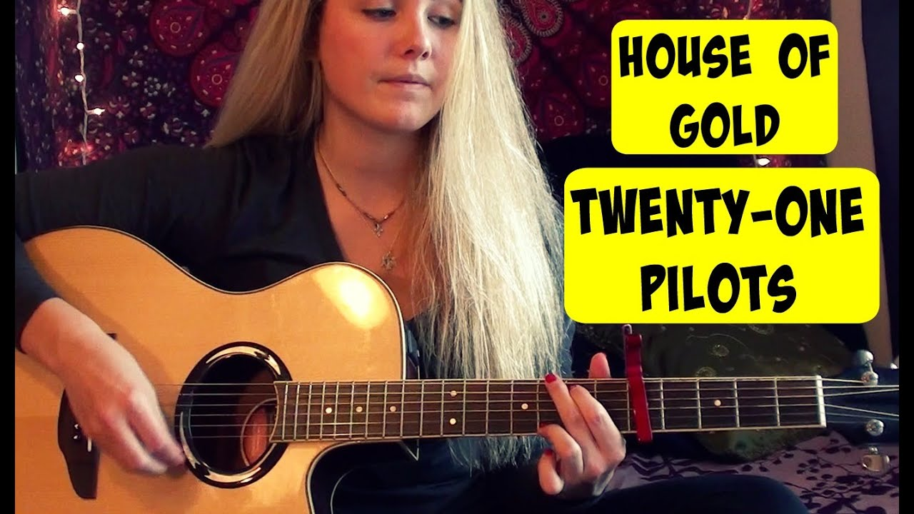 House of gold twenty one pilots guitar tutorial youtube hexwebz Choice Image