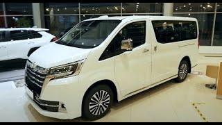 Toyota  HiAce VIP 2021/ Люксовый автобус от Тойоты / Тойота Хайс