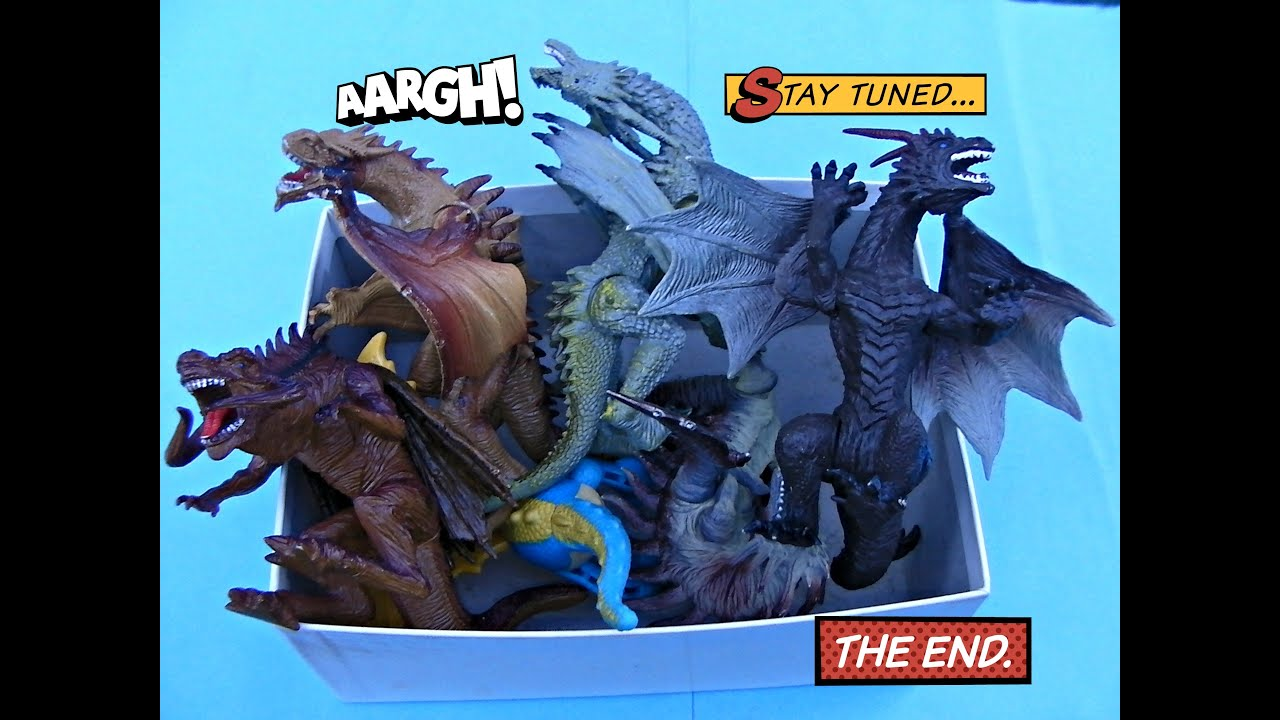Dragon Box Toys Video For Kids Dragons Toy Part 2