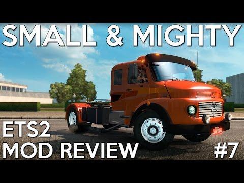 ETS2 Mod Reviews #7 - Mercedes-Benz LS1519
