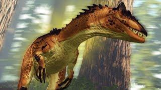АЛЛОЗАВР ПУТЕШЕСТВУЕТ ПО МИРУ, ДИНО МОД    Ark Survival Play As Dino