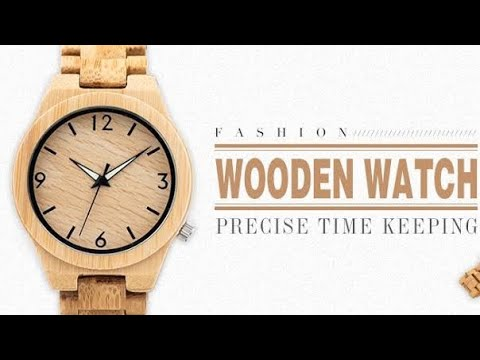 Making The Most Unique Wood Watch