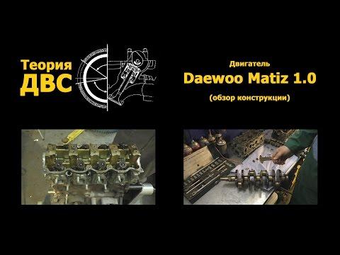 Теория ДВС Двигатель Daewoo Matiz 1.0 обзор конструкции