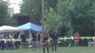 2012 Highland Games - Caber Toss, Livonia, Michigan, Greenmead