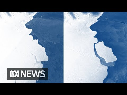 Iceberg The Size Of Sydney Breaks Off Antarctica | ABC News