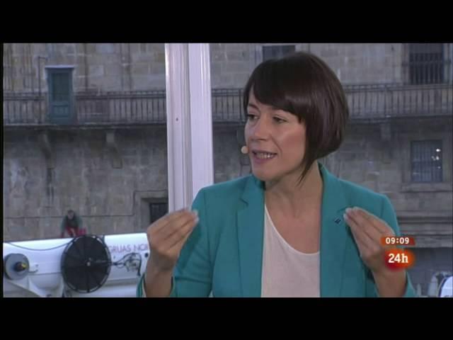 """Entrevista a Ana Pontón nos """"Desayunos"""" de TVE"""