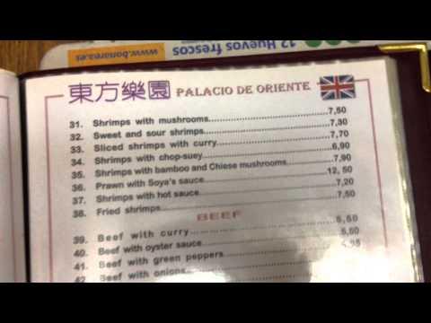 restaurante  chino malgrat de mar