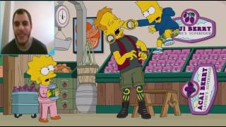 The simpsons funniest moments #1 best moments|reaction