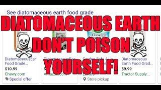 STOP USING DE NOW! - Diatomaceous Earth myths