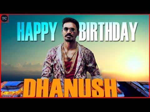 தனுஸ் ஸ்பெஷல் பிறந்தநாள் பாடல் | Actor Dhanush 34th Birthday Special Album Song
