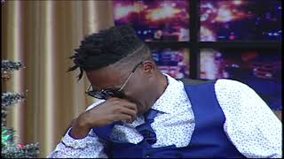 Vicmass Breaks Down on Live Tv as he reflects On his Childhood