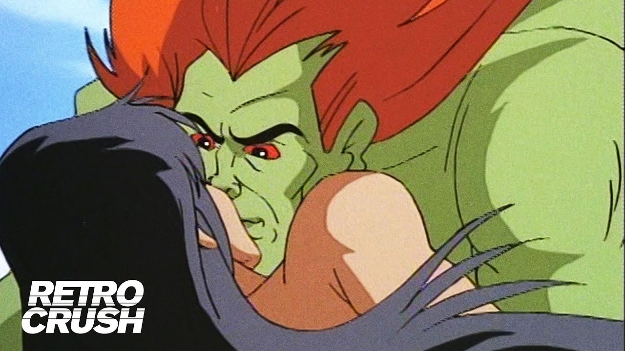 Blanka Finds True Love Street Fighter The Animated Series 1995 Youtube