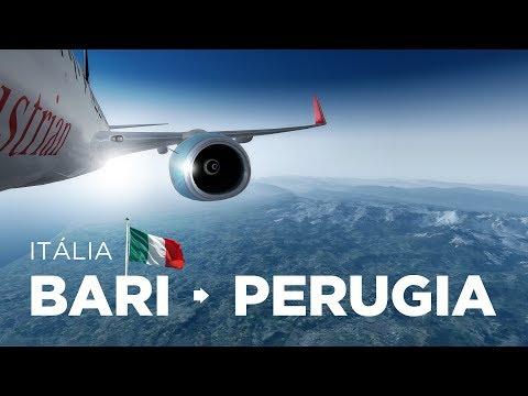 Prepar3D - B737-800 / Bari → Perugia Online Pela Vatsim