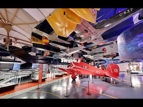[Switzerland Map tour] Visit the Swiss Museum of Transport in Luzern, Children must like it