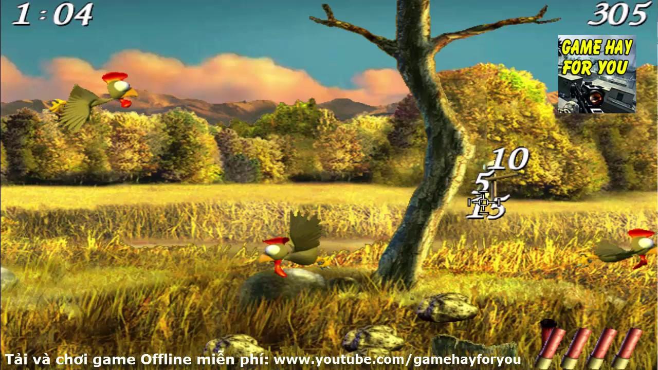 Play game Moorhuhn 2 – Tải và chơi game Bắn Chim trên máy tính