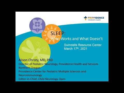 Sleep: What Works and What Doesn't
