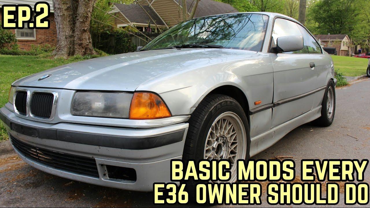 Basic Mods Every E36 Owner Should Do Mikey S Bmw E36 323i Drift Build Ep 2 Youtube
