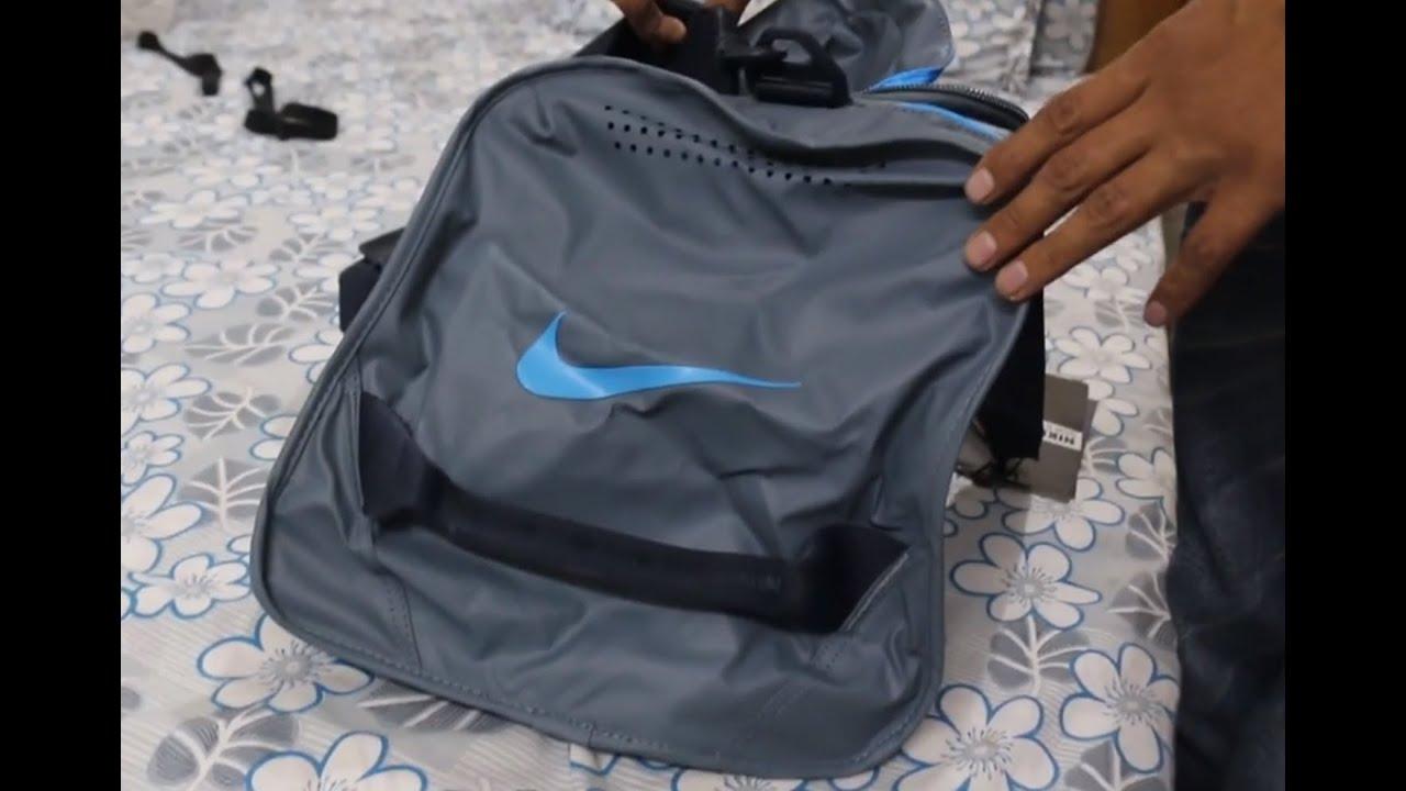 Nike Grey Ultimatum Max Air Medium Duffel Bag (M)